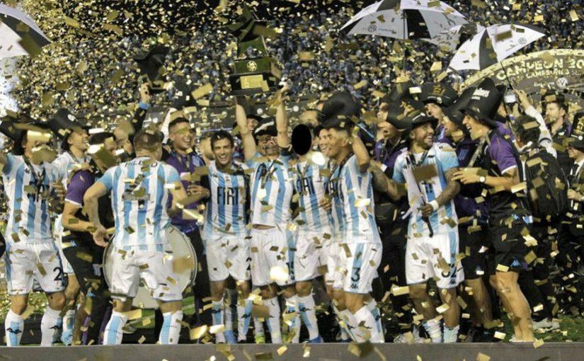 El excelente año de Racing: dos títulos y la posibilidad de la Supercopa Argentina