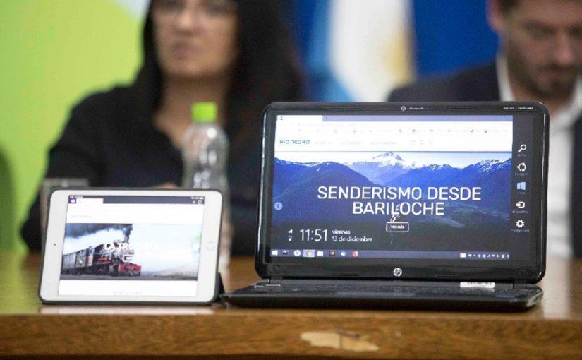 Río Negro presentó su nuevo sitio web turístico